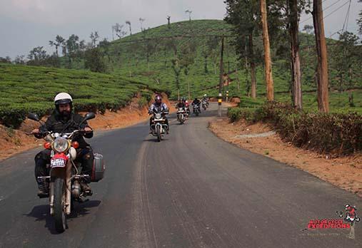Kerala Bike Tours,Motorcycle Tour in Kerala,South Indian