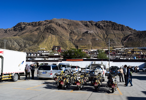 Tibet Motorcycle Tour